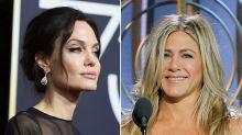 Jennifer Aniston und Angelina Jolie bei den Golden Globes: Diese Blicke sprechen Bände