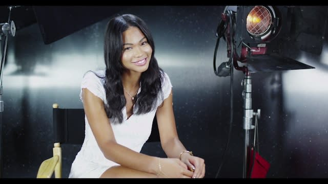 Chanel Iman Interview - Chanel Iman for Forever 21 Holiday 2012