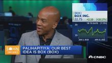 Box shares jump on Palihapitiya's Sohn presentation