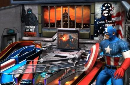'Civil War' table coming to Marvel Pinball