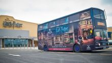 Harry Potter Studio Tour Buses Used to Shuttle Health Workers in Fight Against Coronavirus