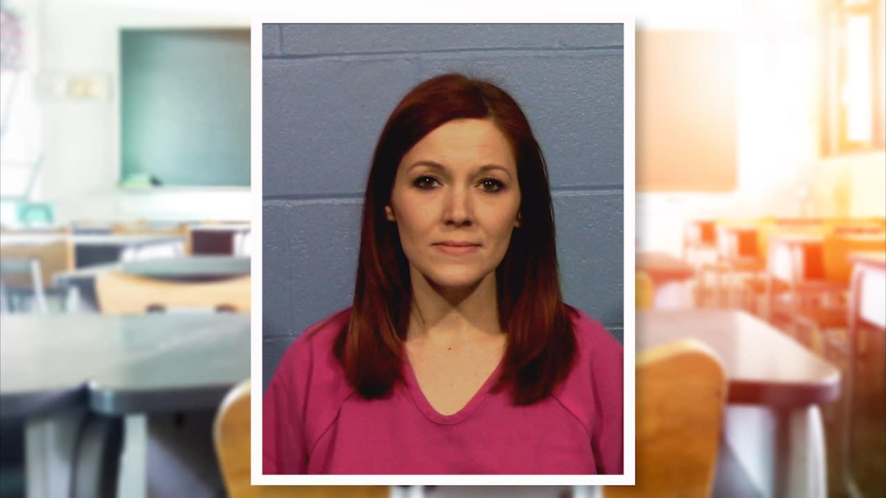 Texas teacher accused of performing oral sex on sleeping