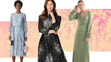 30 wedding guest dresses so pretty you'll wanna wear them to ALL of the weddings