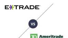 E*TRADE vs. TD Ameritrade