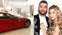 """Gusttavo põe Ferrari de R$ 1,3 milhão na sala e Andressa reclama: """"Não é possível"""""""