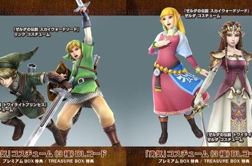 Outfit your Hyrule Warriors with costume DLC, now available