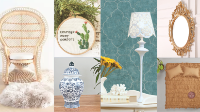 BUY HERE: Decor Ideas for the Grandmillenial Home Trend