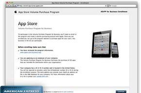 Apple launches B2B store for volume App Store purchases
