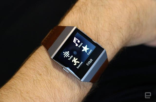 Fitbit's Ionic smartwatch arrives October 1st for $300