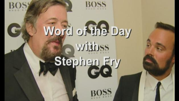 Stephen Fry's Word of the Day