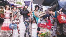 【Cosmo35 X 電影少女 】余香凝、廖子妤及彭彤走進特色香港街市大開時尚派對