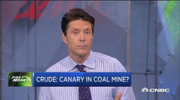 Crude: Canary in coal mine?