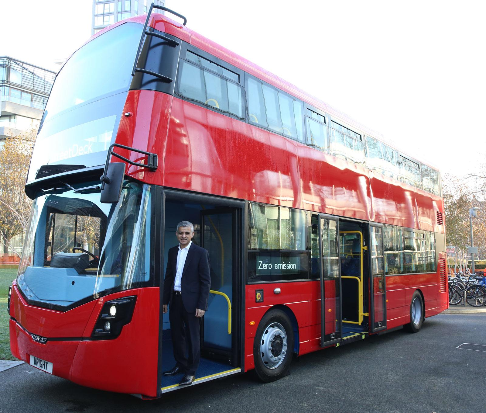 London Mayor commits to greener bus fleet