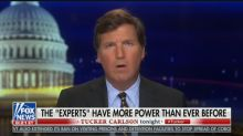 Tucker Carlson claims medical experts 'failed us badly' on the coronavirus