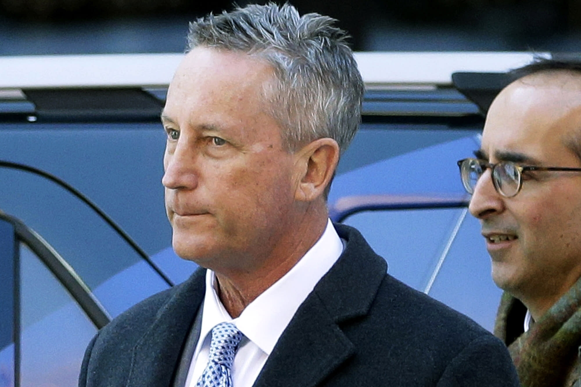 Ex-tennis club president sentenced to 3 months in college admissions cheating scheme