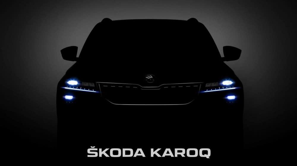 大哥是對的!全新Skoda Karoq下禮拜正式在瑞典發表!