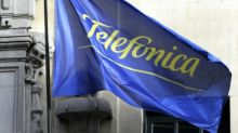 Debt-laden Telefonica reports profit drop