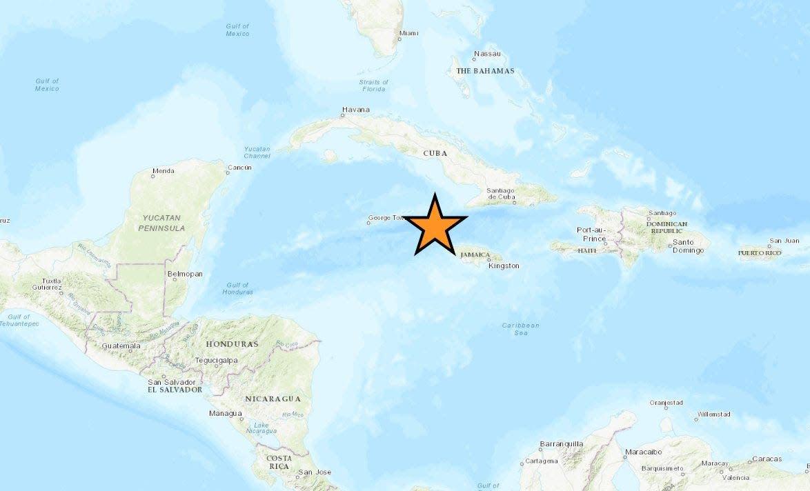 Powerful 7.7 earthquake strikes in Caribbean between Cuba and Jamaica