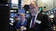 Markets Right Now: Banks, tech drive gains for stock indexes