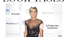 Look des Tages: Yolanda Hadid brilliert im schwarzen Hingucker