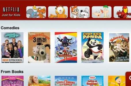 Netflix's 'Just for Kids' section added to Wii
