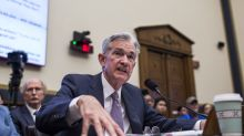 Stocks rise to record highs after Powell sets stage for rate cut