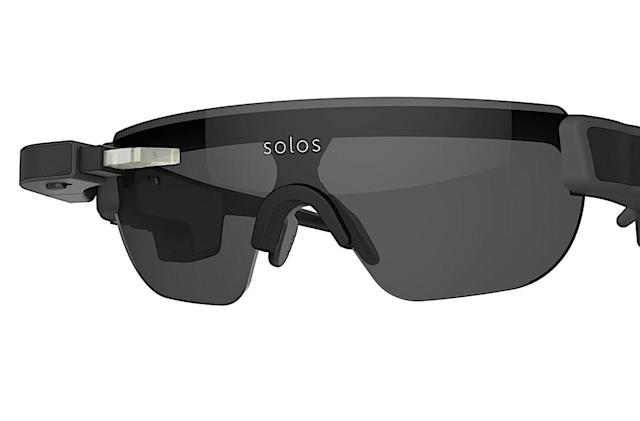 SOLOS smart cycling glasses are going for a run