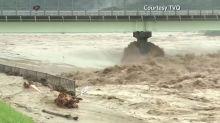 Dozens feared dead in Japan floods