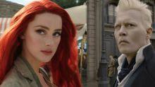 Johnny Depp es acusado de intentar sabotear la aparición de Amber Heard en Aquaman