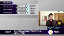 European markets mixed on virus fears