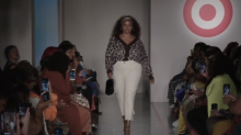 Curvy models stun in viciously-sexy animal prints at Target's empowering fashion show