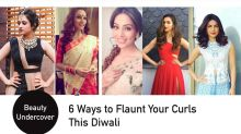 6 ways to flaunt your curls this Diwali