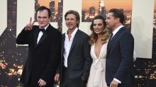 Leonardo DiCaprio, Brad Pitt and Margot Robbie attend Tarantino premiere