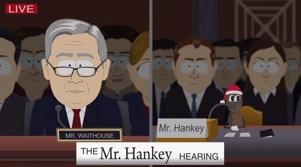 South Park\' Mocks Brett Kavanaugh Hearing With Help From Mr. Hankey
