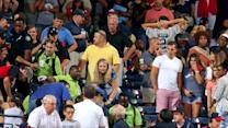 Fan dies after fall in Atlanta stadium