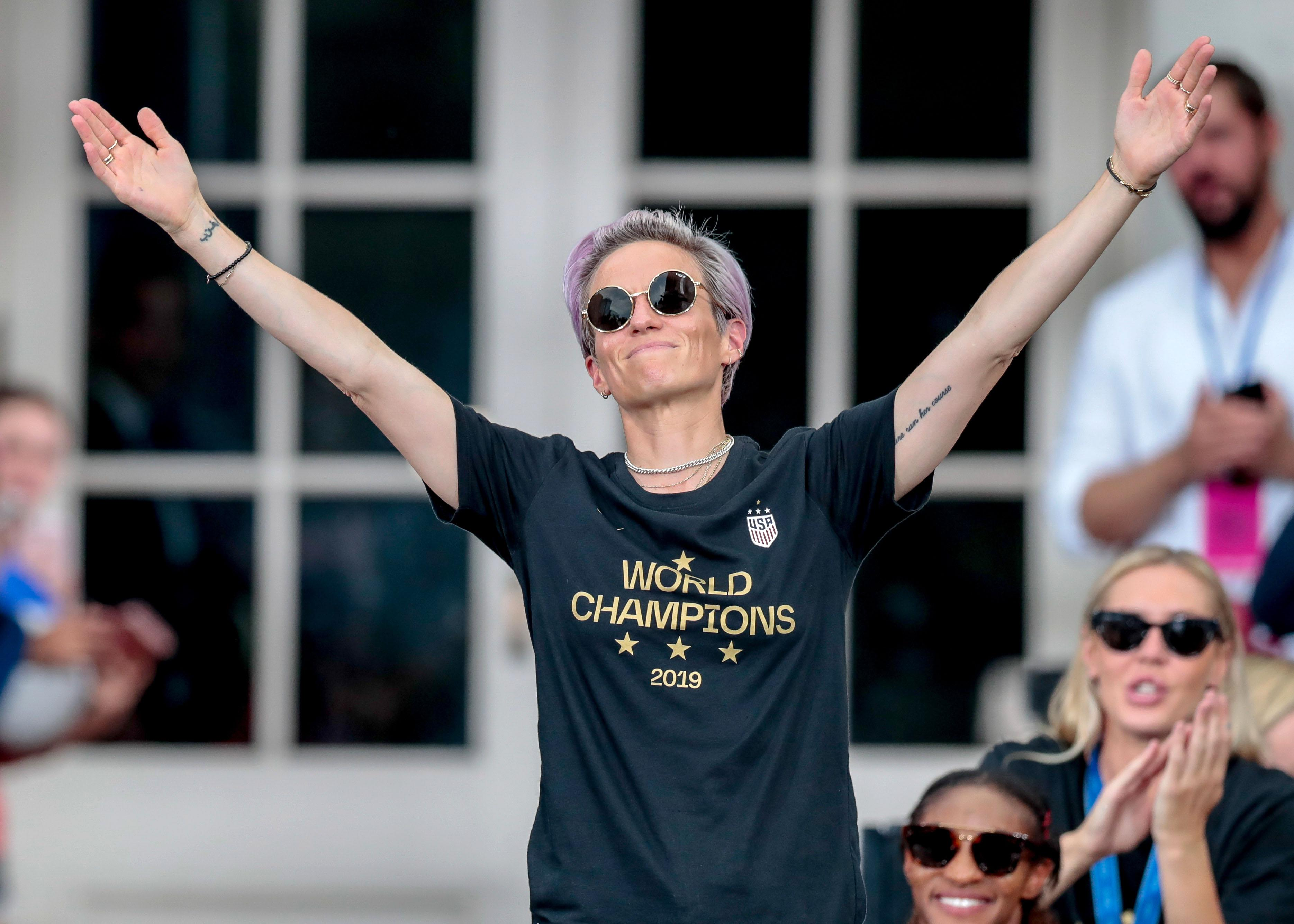 Megan Rapinoe on why equal pay talks broke down: 'You either value us equally and show that, or you don't'