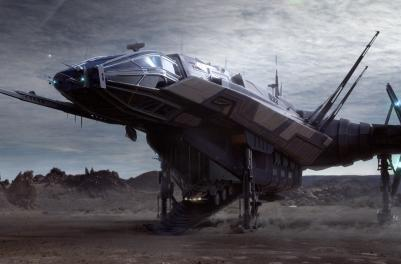 Star Citizen opens up a $350 ship for sale