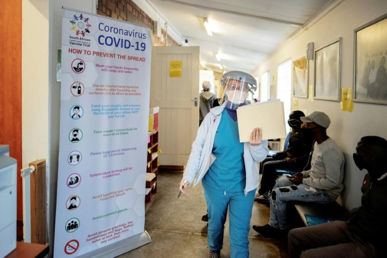 South Africa is the hardest-hit country in Africa with at least 521,318 infections diagnosed so far, accounting for more than half the continent's cases