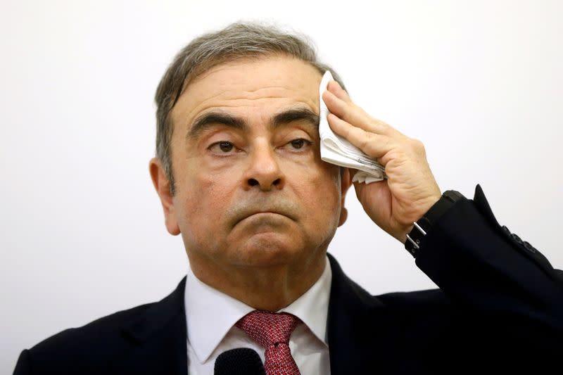 Japan asks U.S. to extradite men accused of helping ex-Nissan boss Ghosn flee