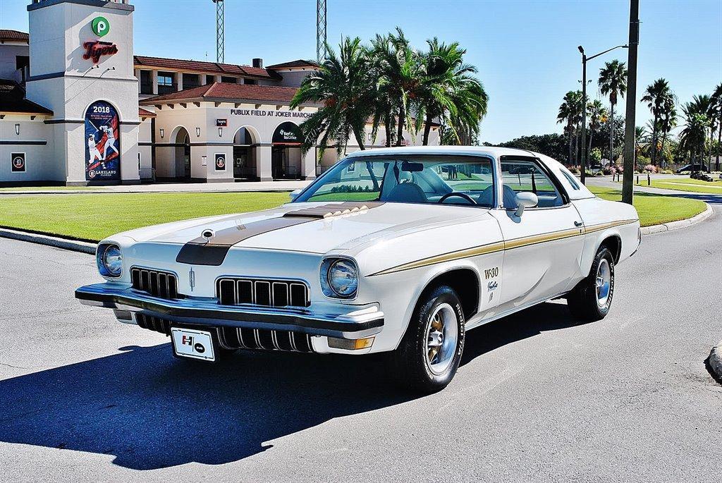 Turn Heads In A Rare 1973 Oldsmobile Hurst Cutlass W-30