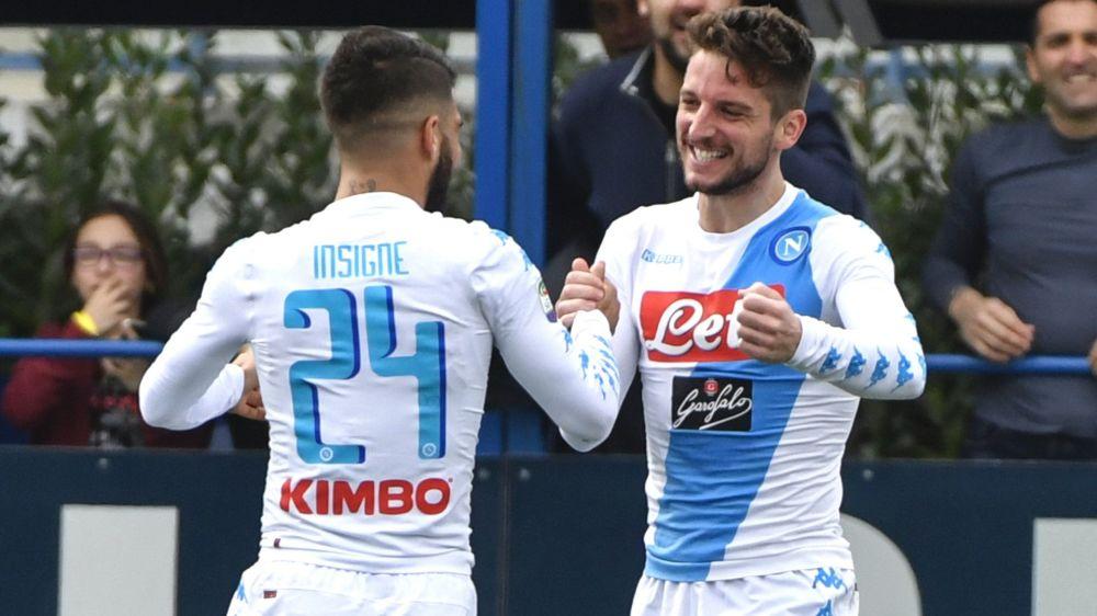 Empoli-Napoli 2-3: Sarri passa col brivido, è +8 sull'Inter