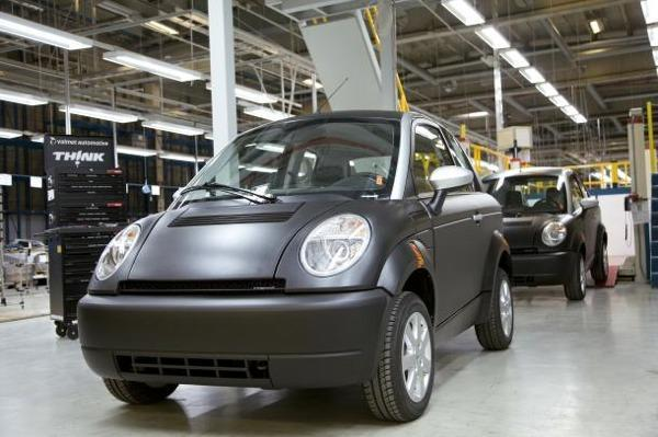 Think Electric returns from the brink, begins production of Think City two-seater
