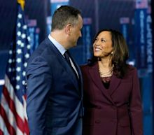 Doug Emhoff's kids describe his relationship with Kamala Harris as 'almost vomit-inducingly cute and coupley'