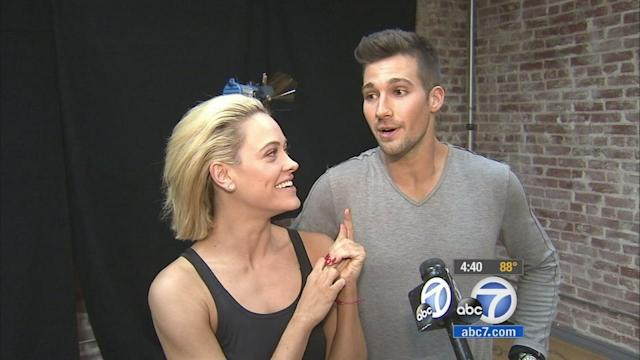 'DWTS': James Maslow talks shirtless numbers