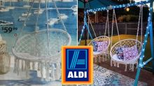 Aldi hanging chair hack wows online: 'How cool!'