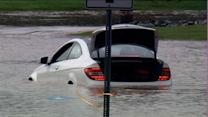 Flash floods leave drivers stranded in Brier Creek