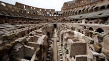 Gladiator tunnels and dungeons: First look inside the Colosseum's £22-million renovation