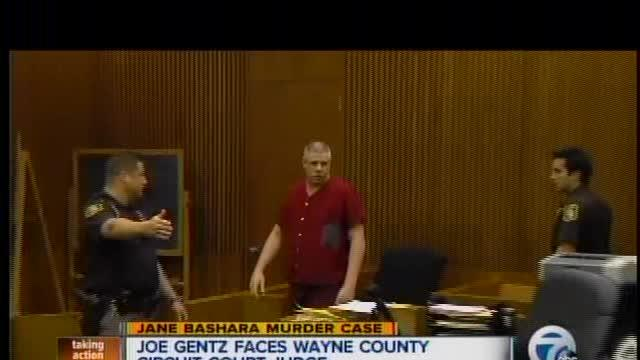 Joe Gentz enters not guilty plea in Bashara murder case