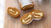 This Pumpkin Roulade Takes Spice Cake to the Next Level