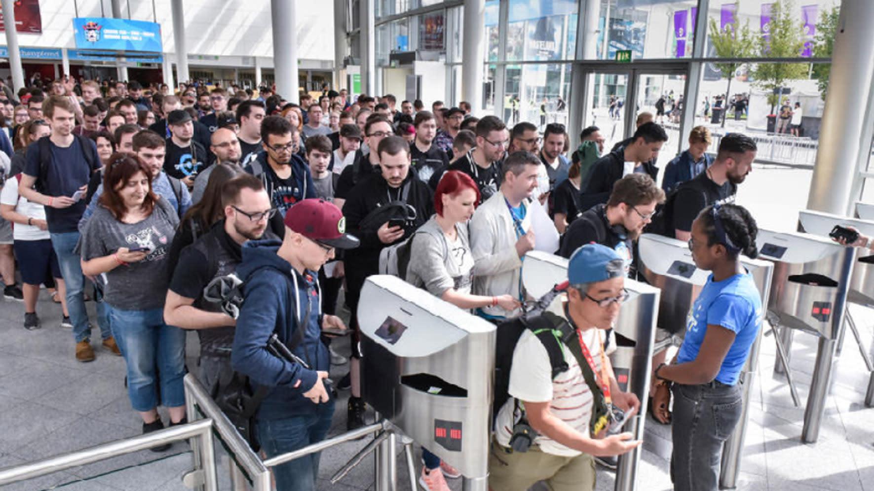 近年世界電玩展進場人數排行:台北電玩展第四名、E3排最後